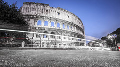 Time Lapses yet the Colosseum remains.
