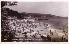 Postcard (1961) (Ferencdiak) Tags: vrna bulgria tengerpart kpeslap ff tenger frdzk naperny socialism see summer