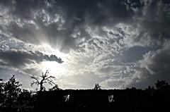 Fentre sur ciel (sergecos) Tags: nature ciel sky cielo nuages clouds nube rayon soleil sun sol contrejour blacklighting nikon d7000 ruine ruin