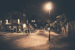 Nottingham (Michael Nyatigi) Tags: city landscape streets street lights cars sky outdoor people matte cityline old vintage a6000 road