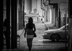 Callejeando (Giancarlo Montenegro) Tags: bw cascoviejo nikon oldquarter panama panam alley blackandwhite blancoynegro callejn caminando downtown sunday walking weekend pa people