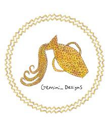 Zodiac Signs: Aquarius (Originally posted on July 25, 2016) (Gemini Designs) Tags: geometric february january air flickr redo watercolor zodiacsign zodiac aquarius vase yellow gold artwork artist art