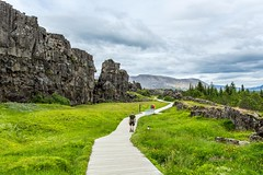 Thingvellir Iceland (Einar Schioth) Tags: thingvellir ingvellir almannagja sky summer day canon clouds cloud cliff canyon nationalgeographic ngc nature landscape photo picture outdoor iceland sland einarschioth