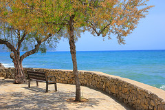 It's where I go to dream (Tina Townhill) Tags: majorca mallorca calabona calamillor sea holiday seaside seascape seat holidays