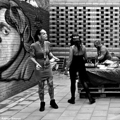 Adidas & Grolsch (Akbar Simonse) Tags: dscn3950 rotterdam rotjeknor holland netherlands nederland people candid tattoos tatoeages graffiti streetphotography straatfotografie urban zwartwit bw blancoynegro bn monochrome vierkant squareformat akbarsimonse