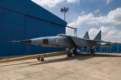 Mikoyan-Gurevich MiG-25R - 3 (NickJ 1972) Tags: indian air force museum palam af delhi india mikoyan gurevich mig25 foxbat kp355
