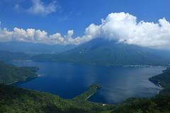 IMG_7304 (Nekogao) Tags:        japan nikko tochigi tochigiprefecture nikkonationalpark okunikko summer      lakechuzenji mountnantai mtnantai 100famousmountainsofjapan mthangetsu mounthangetsu lake