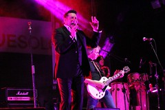 TONY HADLEY and his band (dj erriquez) Tags: artist band concert color canon city concerto cantante guitar percussion eighties english england festival new venice people venezia fun photo show light night italia italy inglese live village singer london londra music man musica summer party palco