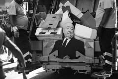 Hitchcock (turinhurinov) Tags: hitchcock monochrome blackandwhite street vehicle garbageman helios 44m 58mm manual