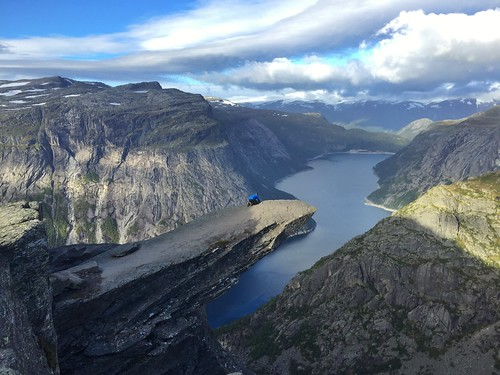 Trolltunga in Odda, Norway.