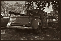 Chevy 3100 1949. (Papa Razzi1) Tags: 7978 2016 254365 chevy 3100 1949 pickup truck sepia classic americana carmeet classiccarsandcustoms2016