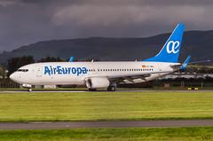 IMGP7666_EC-MKL_GLA (ClydeSights) Tags: boeing aireuropa ecmkl egpf boeing737800 b738 cn60585 738 skyteam glasgowinternationalairport gla 73785pw