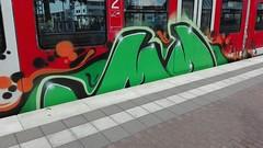 MD (inking systems) Tags: md graffiti streetart personenzug sbahn train zug crew cologne kln