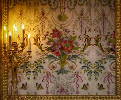 Marie Antoinette room (AndreaDobos) Tags: indoor design texture lights candle marieantoinette france culture