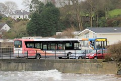 Arran's new & old buses. (busmanscotland) Tags: door volvo df north ps western council wright alexander isle arran forward stagecoach spt ayrshire 20522 aae b10m streetlite 39001 b10m55 sn15 r522vse sn15aae