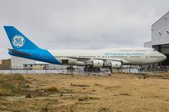 N747GF (rcspotting) Tags: california usa electric general eua boeing ge 747400 victorville vcv avgeek kvcv n747gf rcspotting