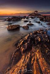 The Hard Way (paulosilva3) Tags: sunset seascape portugal canon landscape eos lee filters miramar 6d polariser spedra