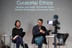 photoset: Kunsthalle Wien Karlsplatz: Curatorial Ethics Conference - Introduction (9.4.2015)