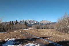 Yumnuska mountain Alberta Canada
