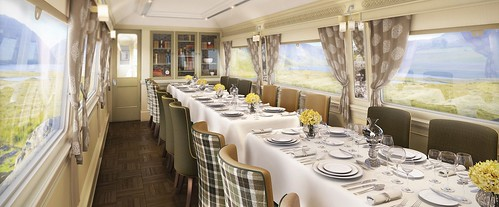Grand Hibernian Train, Wexford Dining car