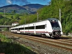 449 (firedmanager) Tags: train tren imperial 449 caf mitsubishi ferrocarril renfe trena gipuzkoa legorreta automotor railtransport mediadistancia renfeoperadora