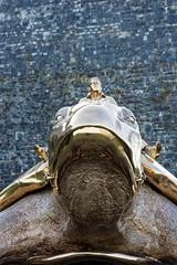 DSC_0039_DxO (sniffou) Tags: sculpture statue jan utopia tortue fabre namur citadelle