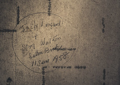 Gedney Railway Station Closed Since 1959 (BenChapmanphoto) Tags: old history wall graffiti march fuji decay text lincolnshire fujifilm derelict 1959 urbex gedney 2015 suttonbridge fujifilmxpro1 18mmf2