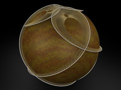 Votive Ball (fdecomite) Tags: math string povray