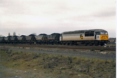 56025 Stainforth & Hatfield (British Rail 1980s and 1990s) Tags: train er br diesel yorkshire rail railway loco trains locomotive freight britishrail nineties 1990s 90s 56 mgr livery railfreight class56 56025 easternregion liveried type5