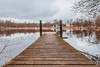 Landvetters Kyrka (Arvid Björkqvist) Tags: wood longexposure bridge lake reflection church clouds nd110 canon6d