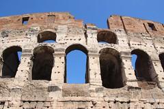 Colosseum (richardr) Tags: old italy rome roma building heritage history architecture italian ruins europe italia european roman ruin historic colosseum coliseum europeanunion lazio flavianampitheatre