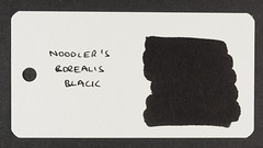 Noodler's Borealis Black - Word Card