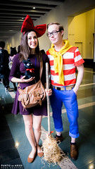 AB2015-1380211 (PuntoDeAries Phos-GraphΦs) Tags: anime one cosplay tinkerbell joker piece naruto cosplayers animeboston bookoflife killlakill animeboston2015 ab2015 haikyu