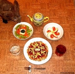 Seara (sea rabbit). Photograph by Dr. Takeshi Yamada. 20120420 022 Egg and Beef Spaghetti. Carrot, Celery & Broccolli S. Sliced T,A. BT. Salt Water (diningwithsearabbits02) Tags: food ny newyork sexy celebrity art hat fashion animal brooklyn painting asian coneyisland japanese star costume tv google king artist dragon god cosplay manhattan wildlife famous gothic goth performance pop taxidermy cnn tuxedo bikini tophat unitednations playboy entertainer takeshi samurai genius mermaid amc johnnydepp mardigras salvadordali unicorn billclinton billgates aol vangogh curiosities sideshow jeffkoons globalwarming takashimurakami pablopicasso steampunk yamada damienhirst cryptozoology freakshow barackobama seara immortalized takeshiyamada museumofworldwonders roguetaxidermy searabbit ladygaga climategate minnesotaassociationofroguetaxidermists