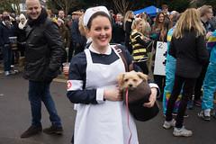 Nurse and Dog