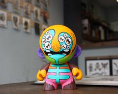 Mr. Vertigo (WuzOne) Tags: painting toy diy vinyl collectible custom dunny designertoy vinyltoy munny artoy thewuz wuzone toyconuk
