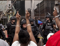 IMG_7151 (Wespennest) Tags: ohio demo spring cops nazi nazis protest police demonstration toledo armor april riotpolice riotcops neonazis nsm bodyarmor jeffschoep nationalsocialistmovement kenkrause