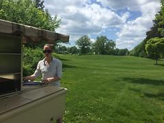 Food Cart @ Goody (newenglandgal) Tags: green golf student ct fairway cart hartford goody iphone odc ccsu project365 goodwinpark 136365