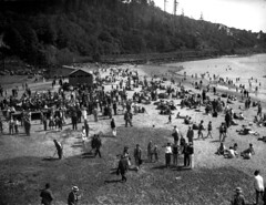 Golden Gardens, 1936 (Seattle Municipal Archives) Tags: seattle 1930s beaches pugetsound ballard shilsholebay seattlemunicipalarchives