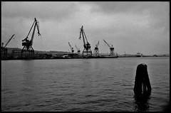 Gteborg - Sude (aRGeNTiC yeaRS) Tags: sea mer industry port gteborg harbor town seaside europe photographie crane transport ville sude grues didierhubert didierhubertphotographe