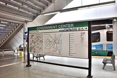 DSC_1428 (billonthehill2001) Tags: boston subway mbta governmentcenter greenline blueline