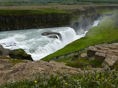 P1870426 Gullfoss waterfall  (17) (archaeologist_d) Tags: waterfall iceland gullfoss gullfosswaterfall