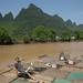 Barcos de bambu