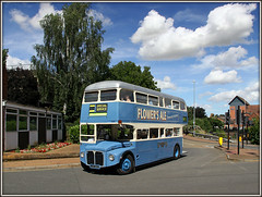 Stagecoach 12565 (Jason 87030) Tags: aec routemaster stagecoach rml 12565 wellingborough bus event rally july 2016 sun cloud canon day vintage blue nice transport special jjd565d