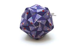 Ampullaria (Akizhi) Tags: origami modular unit paper art design kusudama crafts artwork papercraft