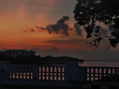 Skyline (venkatpraveen) Tags: skyview clouds sunrise orange sky nature naturephotography naturallight sunshine bridge architect morning peace silence silhoutte light explore travel dark sunrays reflection