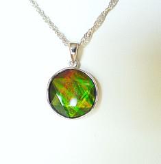 NEW ARRIVAL (The Ammolite) Tags: アンモライ ammolite ammonite pendant jewelry jewellery minerals mineral gemstone stone
