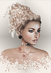 Analog-Dog-evolve ([] Nieor Svir []) Tags: woman meshbodylara style lotd poetic maitreya fashion hair blogging sl secondlife logo meshhead alterego hairfair16 personen portrt analogdog