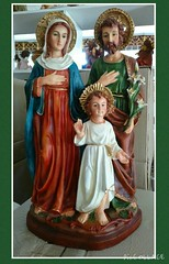 The Holy Family by Everything About Santa (Everything About Santa) Tags: joseph mary jesus holyfamily everythingaboutsanta