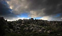 Torcal de Antequera - Mlaga (Garciamartn) Tags: paisaje roca nubes panormica torcal antequera mlaga andaluca nino garciamartn naturaleza caliza krstico parquenatural